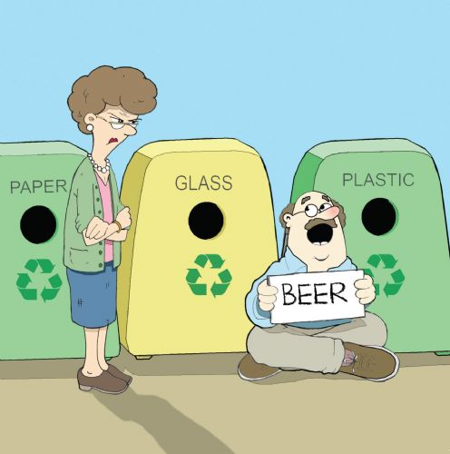 Twizler CAN70 - Beer Recycling Card